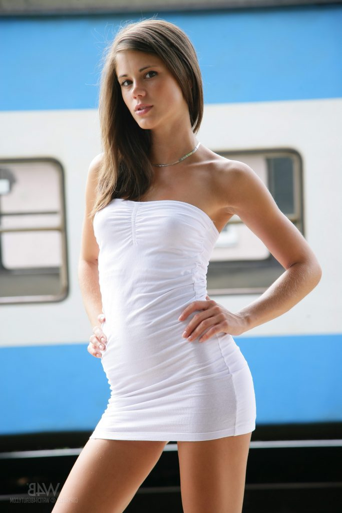 Cheap London Escorts - White Dress